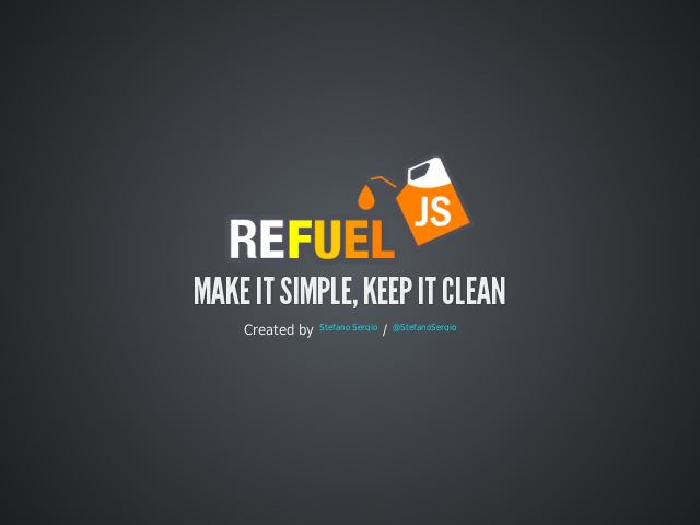 Make it simple, keep it clean – The Idea – Get everything up and running