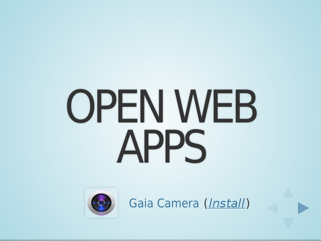 Open Web Apps