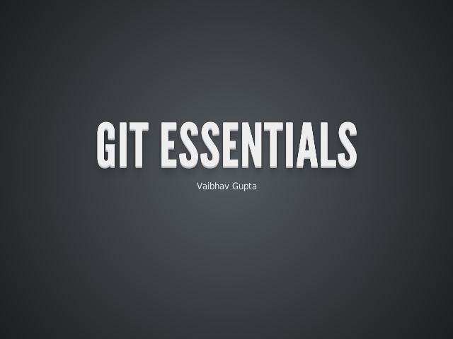 Git Essentials – Types of Version Control Systems – Theory