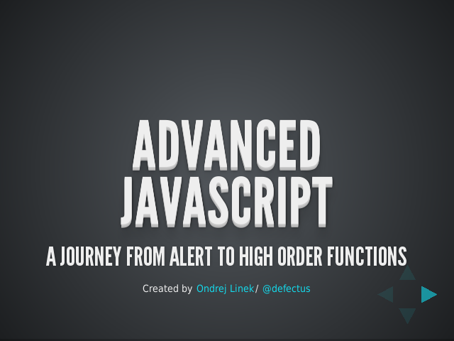 advanced javascript – a journey from alert to high order functions – basics