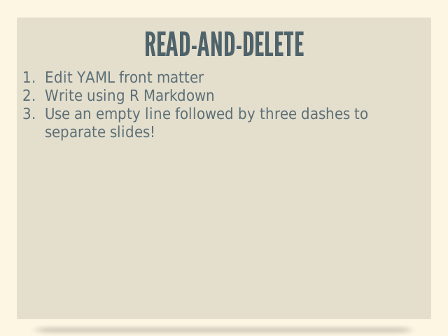 Read-And-Delete
