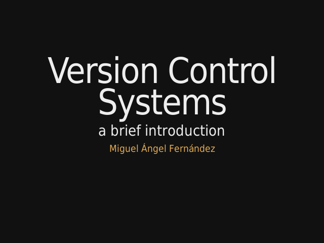Version Control Systems – a brief introduction – Basic Operations