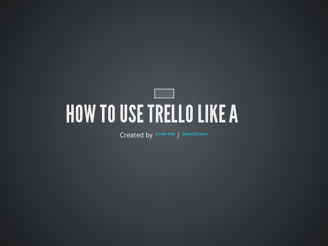 "How to use Trello like a ""Pro""  – What is Trello? – He can now concentrate to sell his Hello Kitty more effectively"