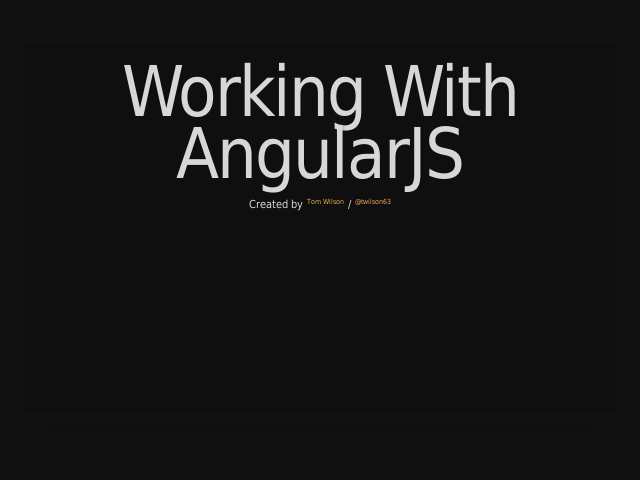Working With AngularJS – ui-bootstrap