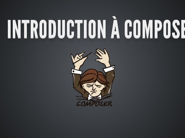 Introduction à Composer – Le projet – Solutions