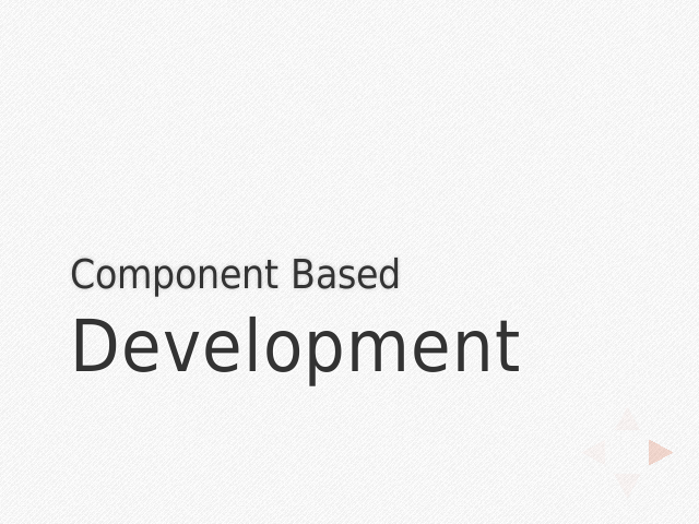 component-based-development