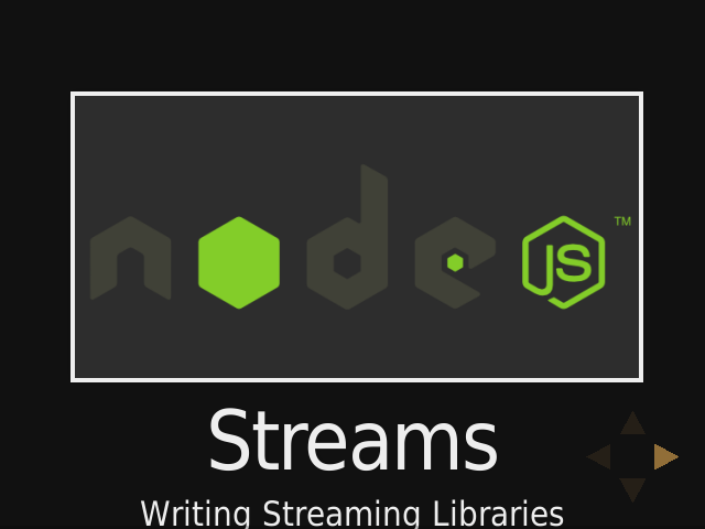 Streams – Writing Streaming Libraries – Using Streams