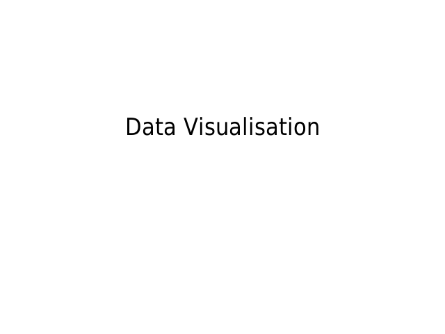 Data Visualisation – for Hacks & Hackers – (in Prague!)
