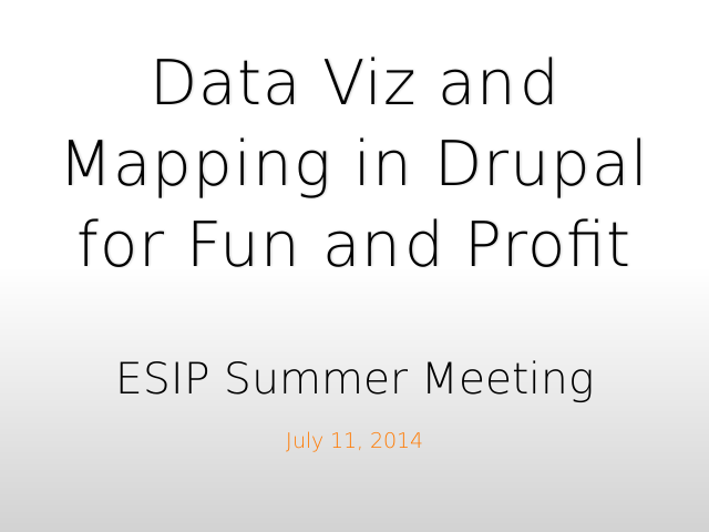 esip-mapping