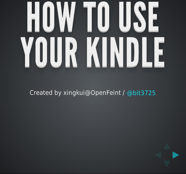 How to use your Kindle          –              Device            –              Settings