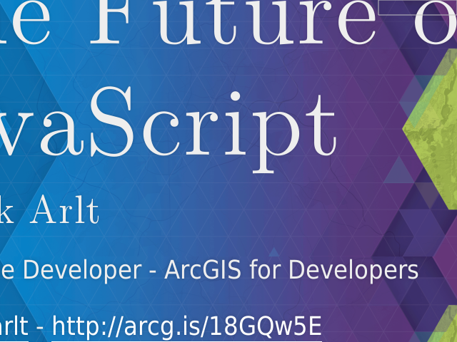 The Future of JavaScript – Patrick Arlt