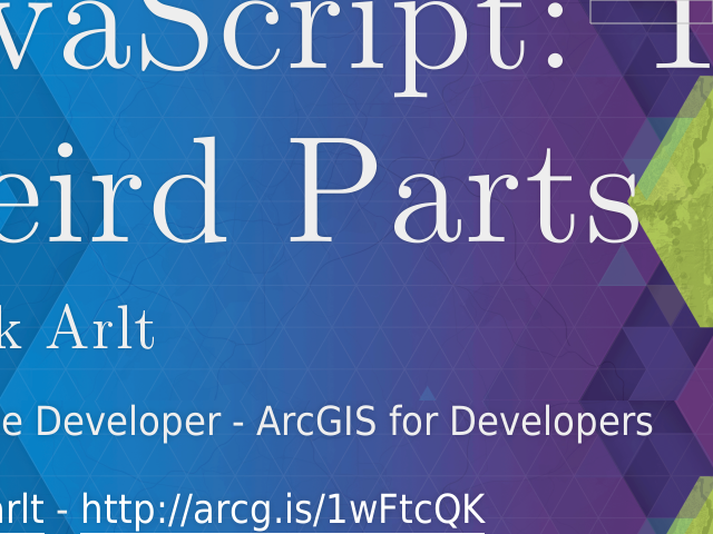 JavaScript: The Weird Parts – Patrick Arlt